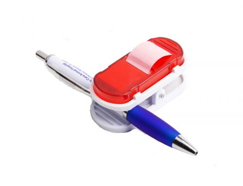 Mini Sticky Note Tape Dispenser with Clip